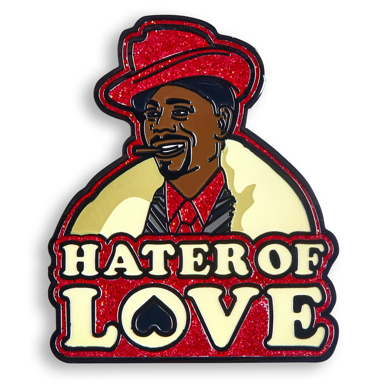 Hater of Love Pin