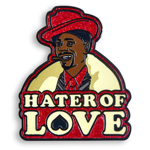 Hater of Love Pin - datacrew