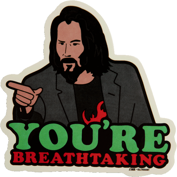 Keanu Sticker Stickers Kill the Giant | DataCrew