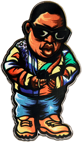 Get Money Biggie Pin Pin Data Crew | DataCrew