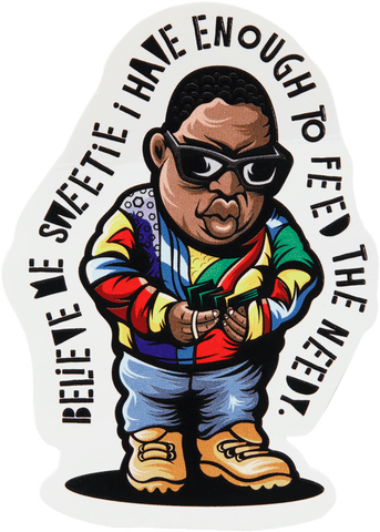 Get Money Biggie Sticker - datacrew