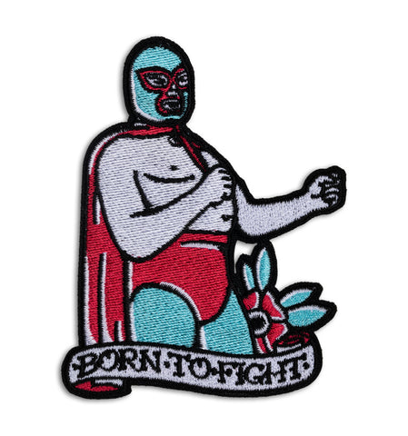 Born To Fight Patch - datacrew