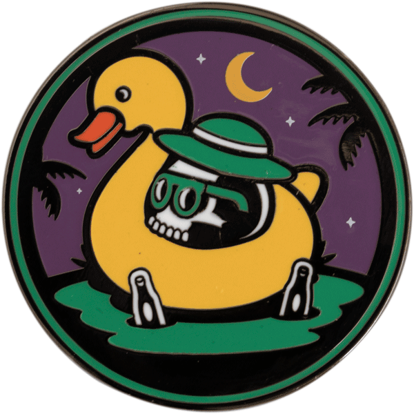 Rubber Ducky Pin Pin Data Crew | DataCrew
