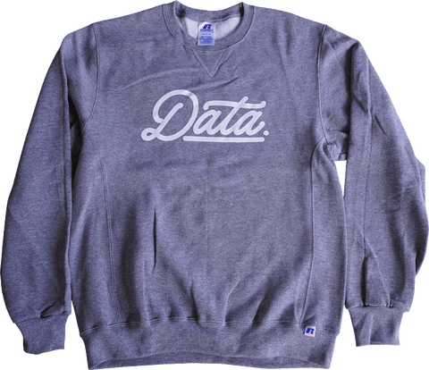 Data Script Dri-Power Crewneck (Russell) - datacrew