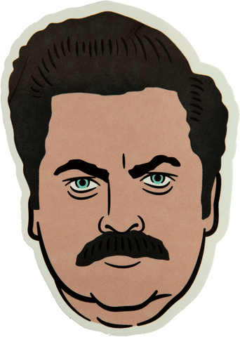 Swanson Sticker Stickers DATA CREW | DataCrew