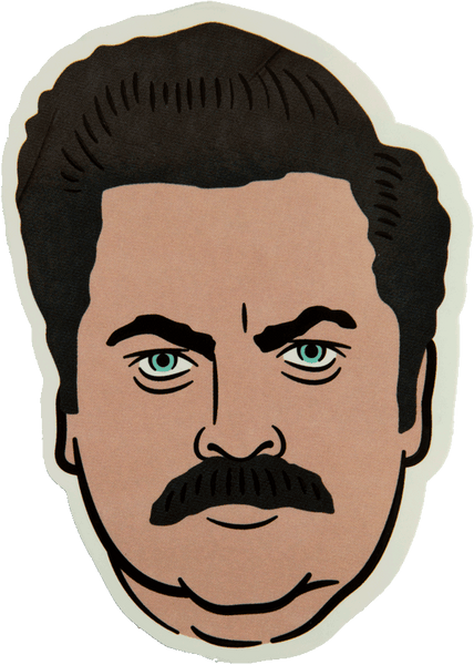 """Swanson"" Sticker Stickers Data Crew 