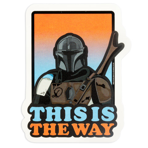 This is the Way Sticker - datacrew