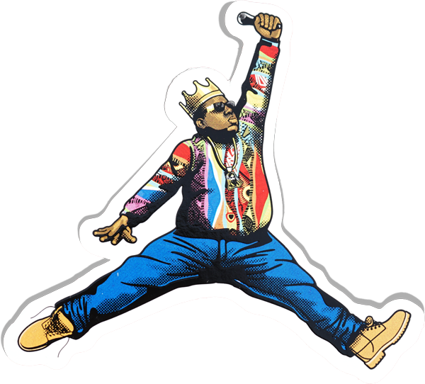 NOTORIOUS JUMPMAN Stickers Data Crew | DataCrew