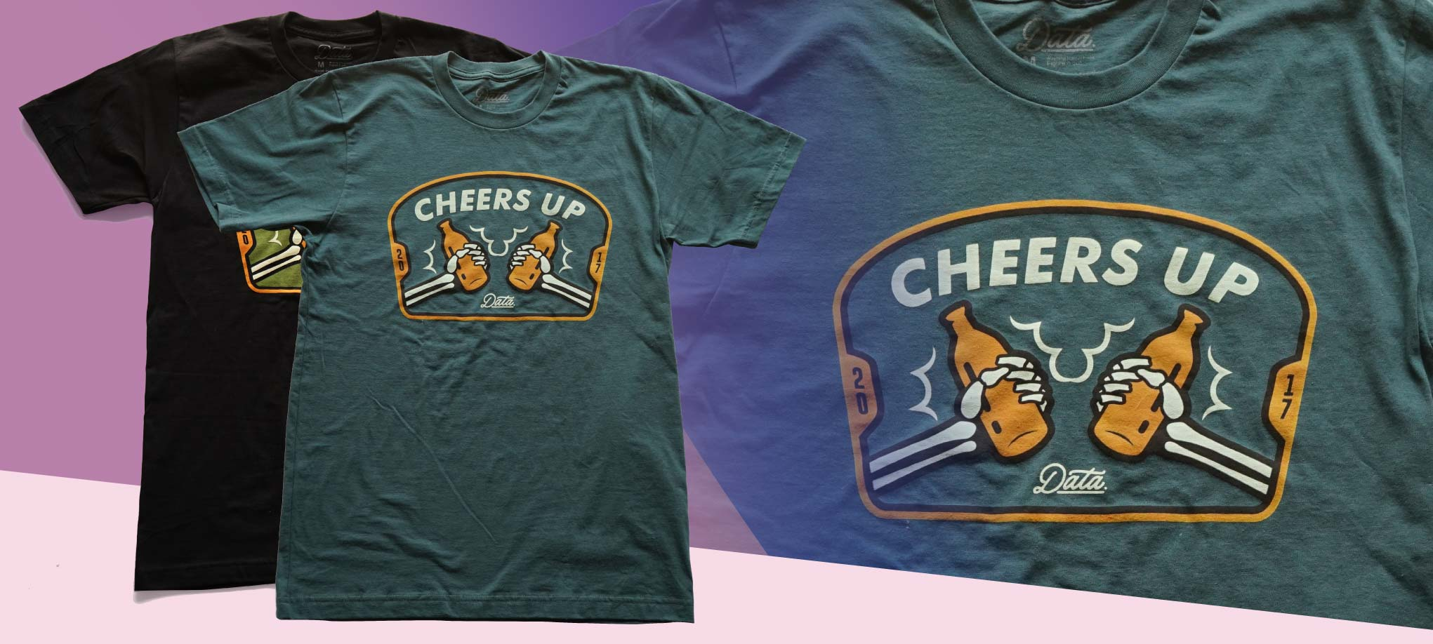 "Cheers Up"" Shirt shirts Data Crew 