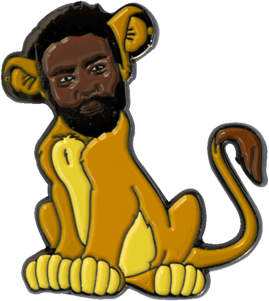 Childish Lion Pin pin Kill the Giant | DataCrew