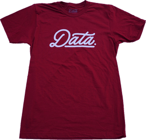 Data Cranberry Shirt shirt DATA CREW | DataCrew