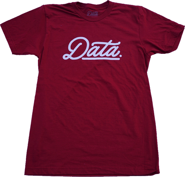 """Data Cranberry"" Shirt shirt Data Crew 