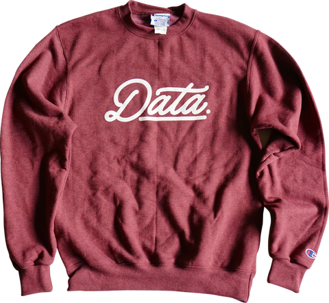 Smooth Logo Crewneck (Champion) - datacrew