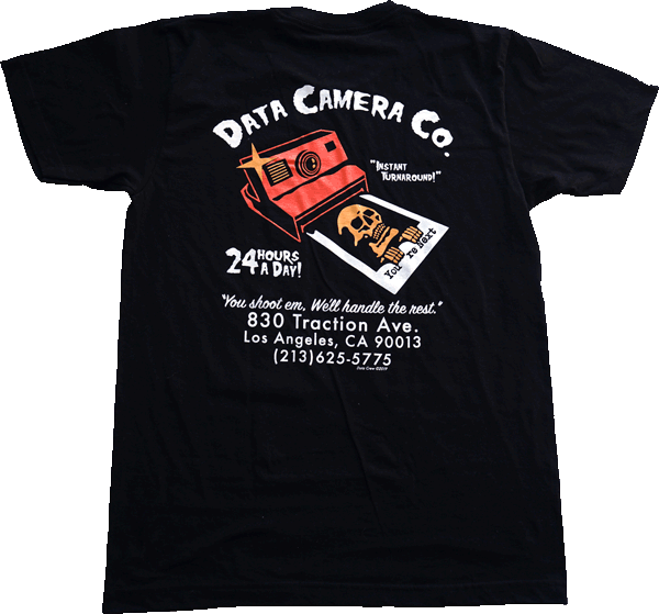 """Data Camera Company"" Shirt shirts DATA X Kill The Giant 