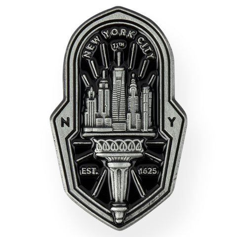 N.Y. Badge Pin Pin DATA CREW | DataCrew
