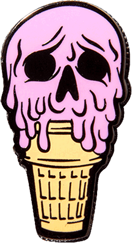 """Die Scream Strawberry"" Pin Pin Jeremy Coon 