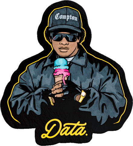"""EAZY ICE CREAM"" STICKER Stickers Jake Beeson 