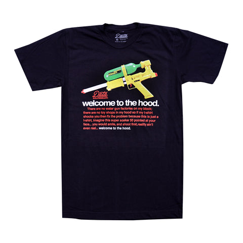 Welcome to the Hood Tee shirts KILLTHEGIANT X DATA CREW | DataCrew