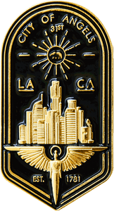L.A. Badge Pin - datacrew