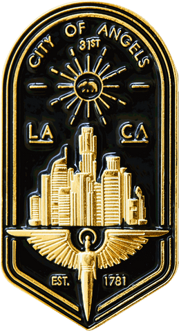 L.A. Badge Pin Pin Data Crew | DataCrew