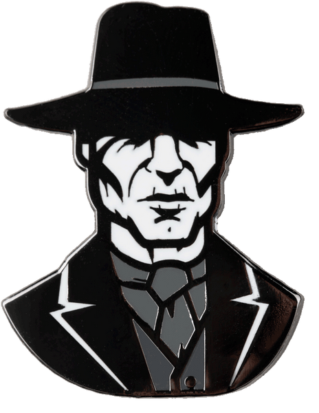 The Man in Black Pin Pin Data Crew | DataCrew