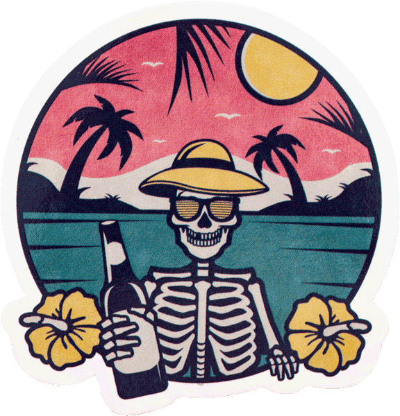 """MAUI VACATION"" STICKER Stickers Data Crew 
