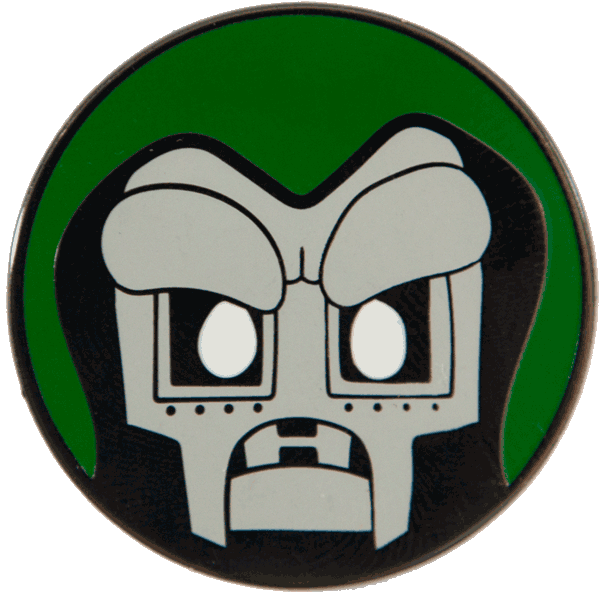 """Mood Doom"" Pin Pin Peabe 