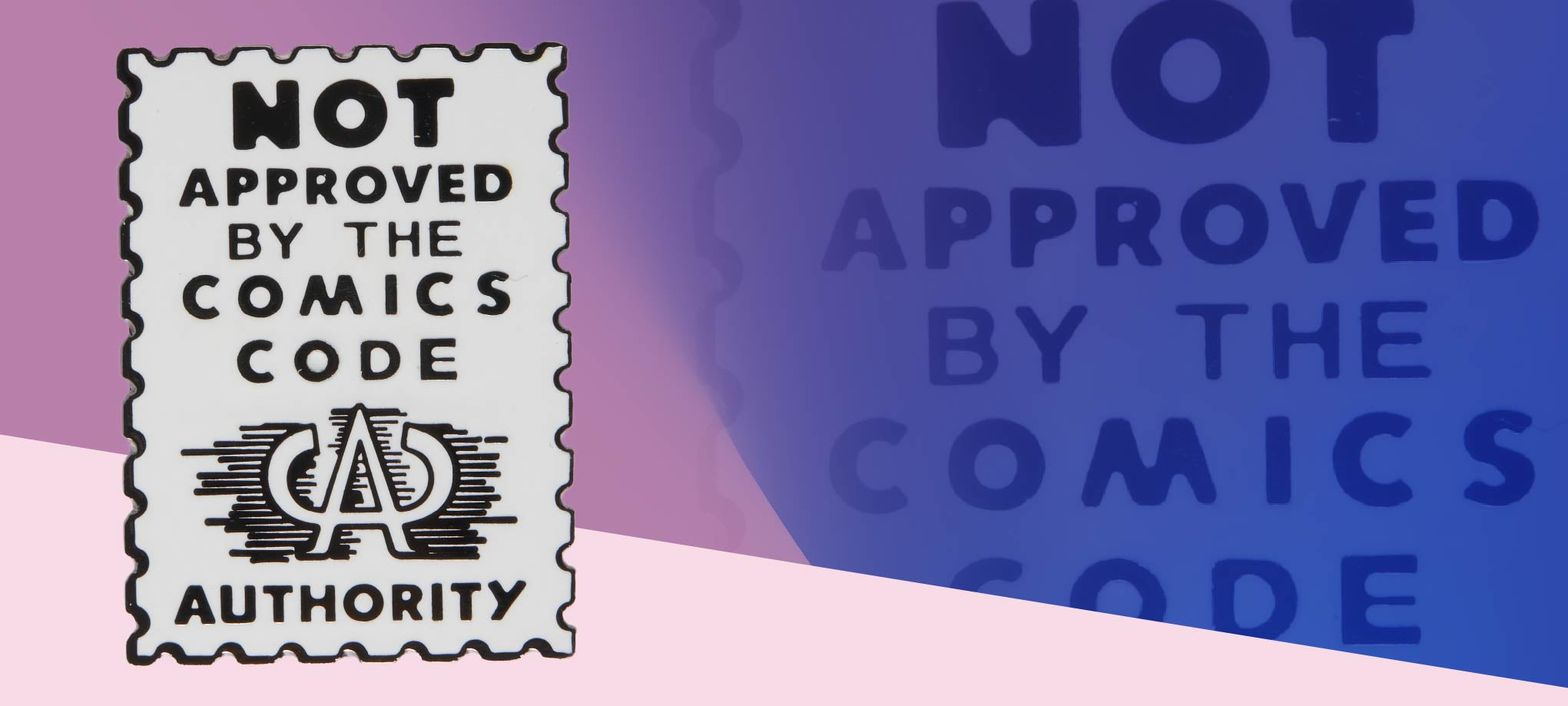 Not Approved Comic Pin Pin Data Crew | DataCrew