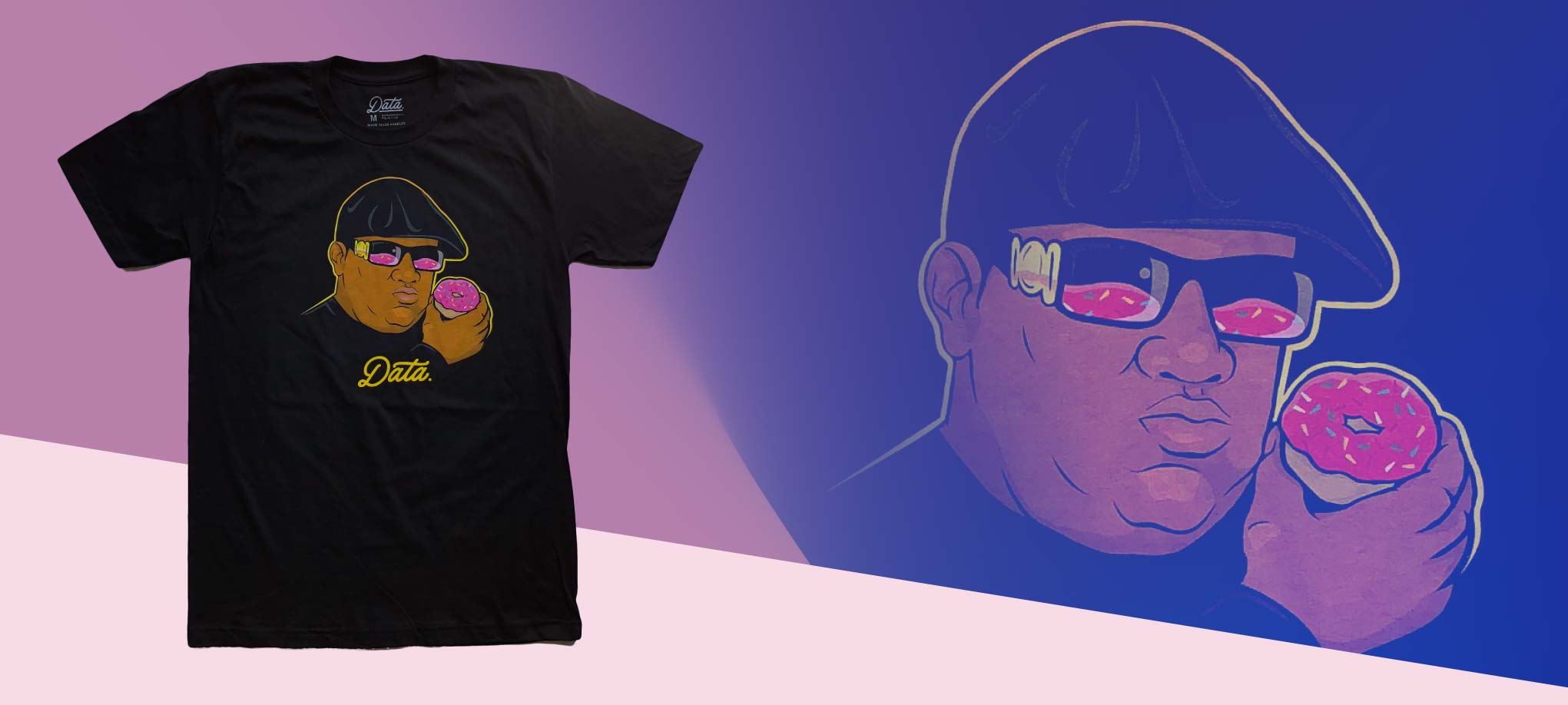 """Notorious Donut"" Shirt shirt Jake Beeson X Data 