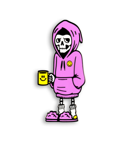 Sleepy Reaper Pin Pin DATA CREW | DataCrew