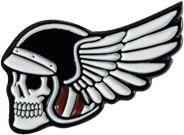 Wing Skull Pin Pin Data Crew | DataCrew