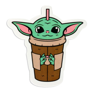 Baby Green Tea Sticker Stickers DATA CREW | DataCrew