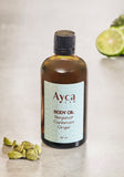 BERGAMOT, CARDAMOM & GINGER BODY OIL
