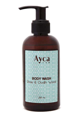 ROSE & OUDH WOOD BODY WASH