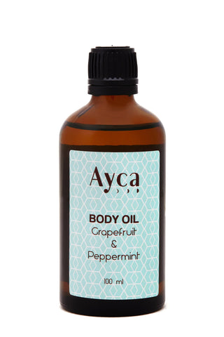 GRAPEFRUIT & PEPPERMINT BODY OIL