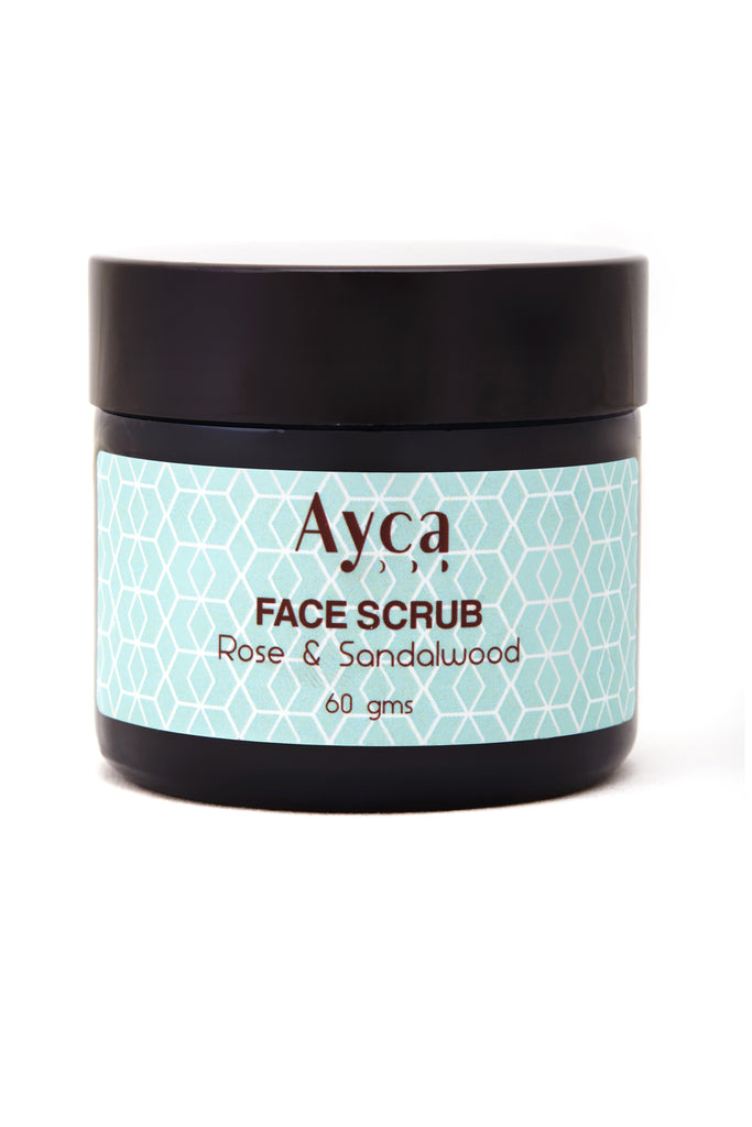 ROSE & SANDALWOOD FACE SCRUB