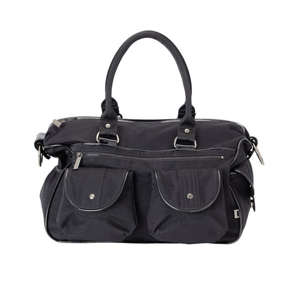 Black washed Nylon carry all OiOi