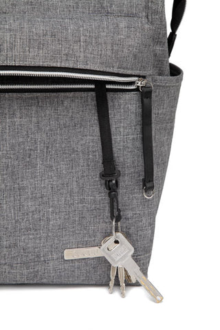 Melbourne Carry All Nappy Bag Backpack – Grey