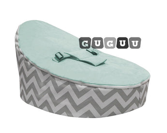 Mercury Chevron Baby Bean Bag