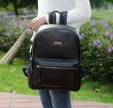 Viv Nappy Bag Backpack – Black