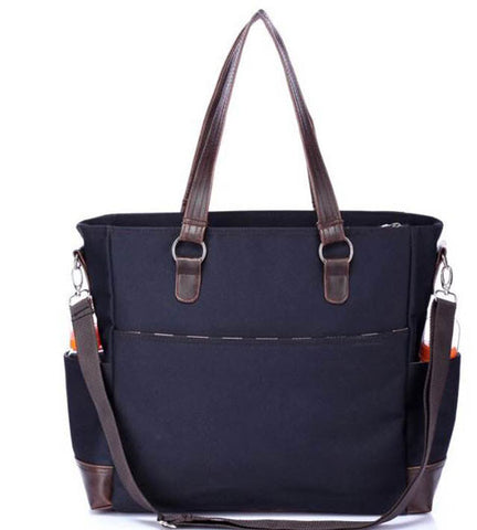 Mummy Tote in Navy