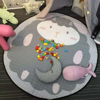 Baby sheep play mat