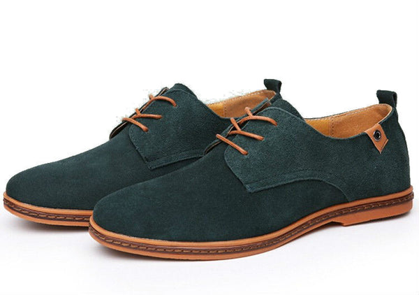 Male Casual Suede Oxfords 6 colors