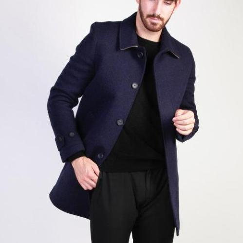 Fashionable Overcoat Made in Italia - ADOLFO three colors
