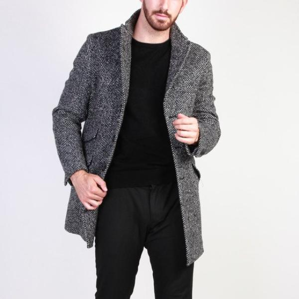 Fashionable Overcoat Made in Italia - AMERIGO