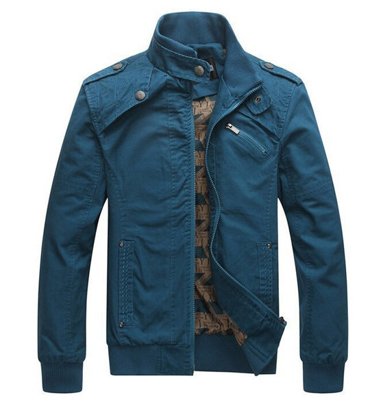 Stand Collar Army Military Jacket 4 colors