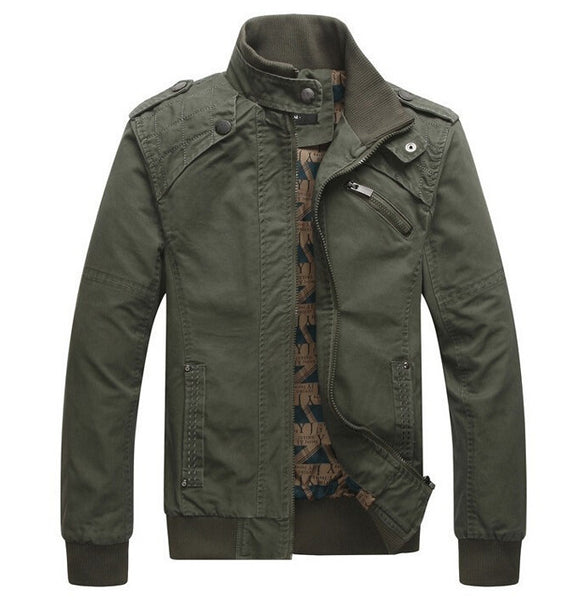 stand collar amy military jacket