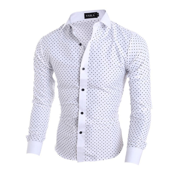 Polka Dot Casual Shirt 2 colors