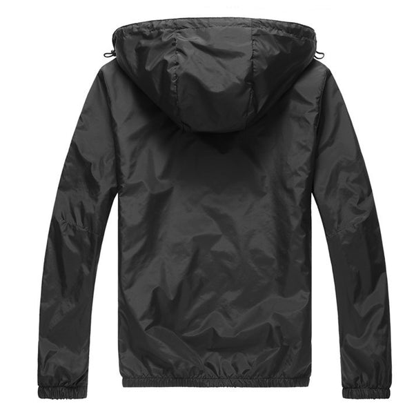 Hooded  Thin Windproof Jacket