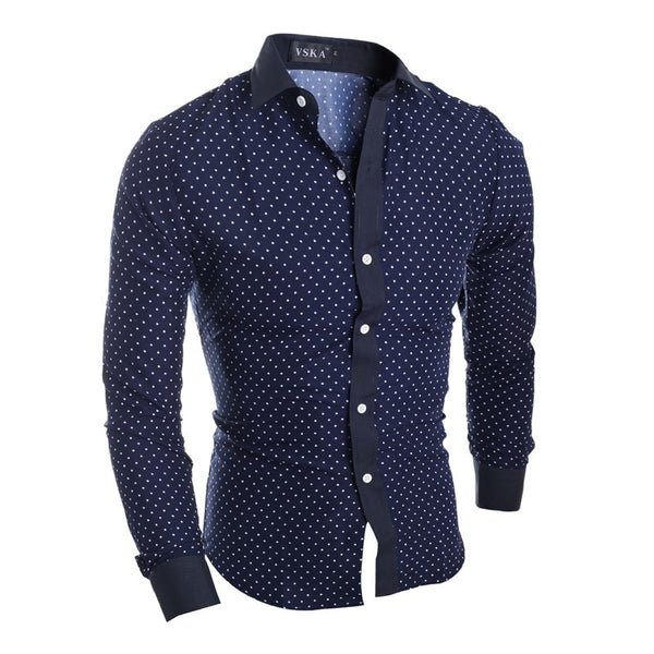 Polka Dot Casual Shirt / 2 colors